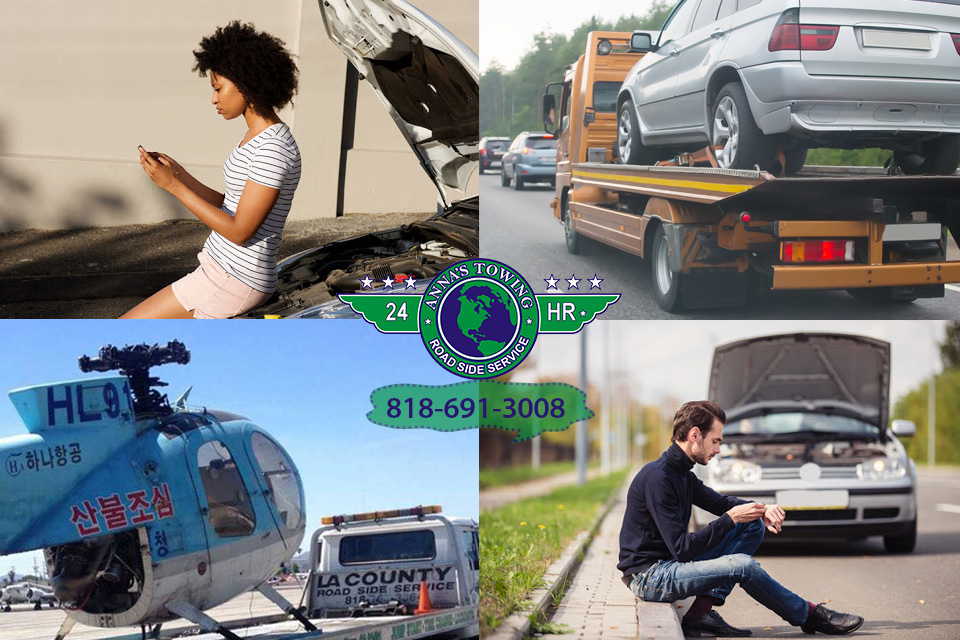 Get Emergency Assistance with North Hollywood Towing