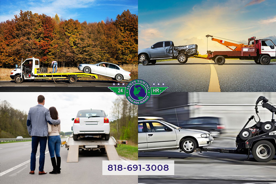 Canoga Park towing services