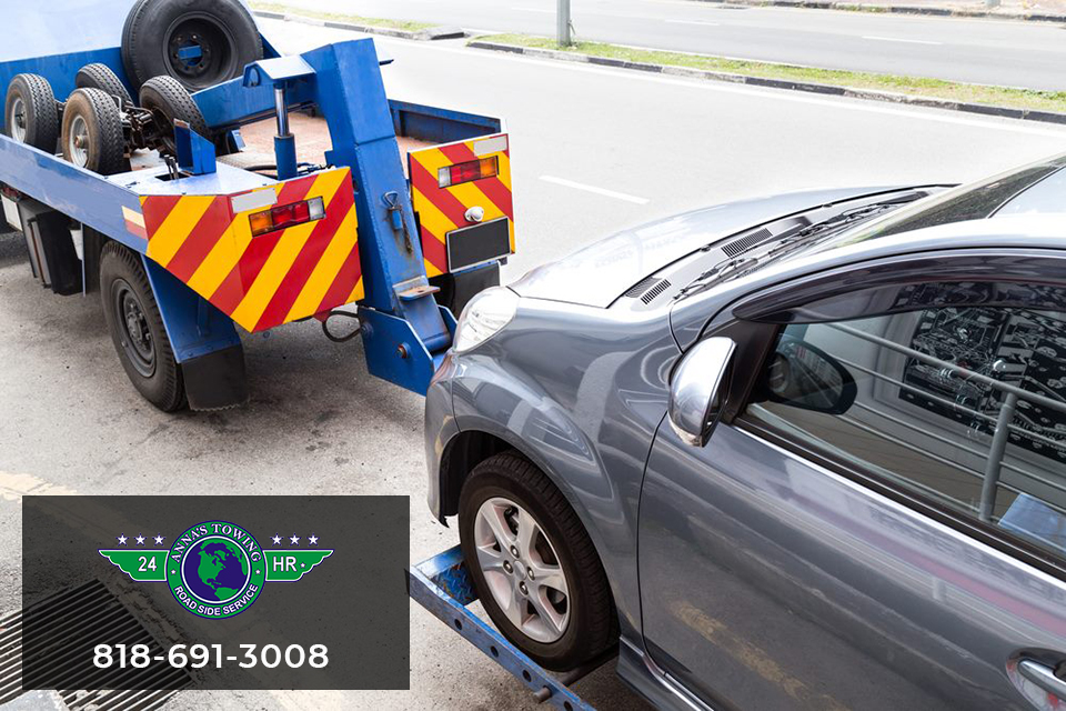 the Canoga Park towing services